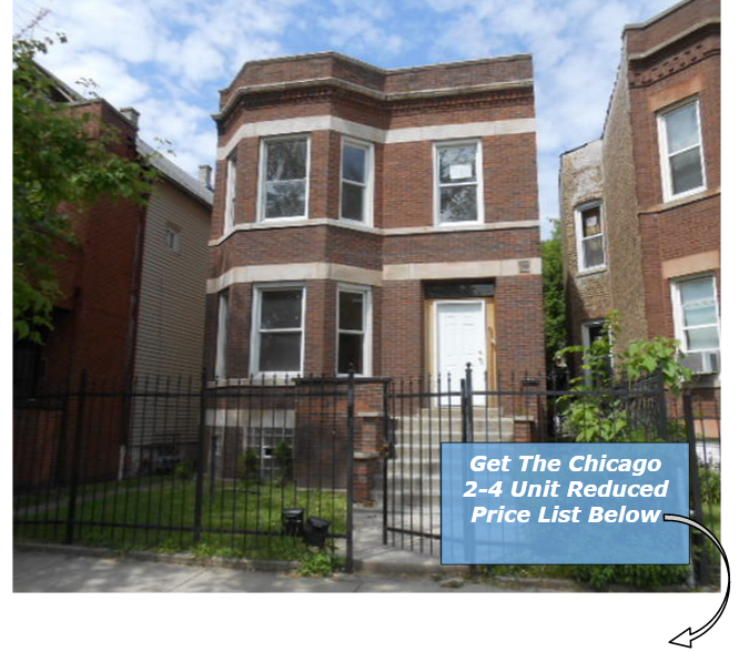 Chicago 2-4 Unit Buildings Price Reduced List